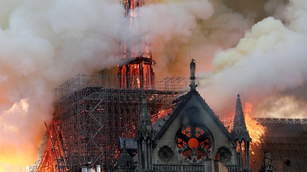 Un incendie se déclare à la cathédrale Notre-Dame de Paris | France Nouvelles