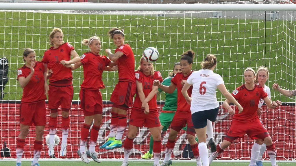 Coupe du Monde Féminine de la FIFA, France 2019 ™ - Actualités - Coup franc chargé d'émotion de Mjelde