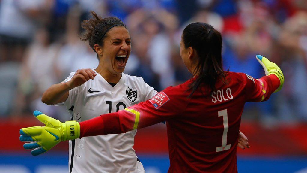 Coupe du Monde Féminine de la FIFA, France 2019 ™ - Actualités - La grève audacieuse de Lloyd's à mi-chemin assomme le monde qui regarde