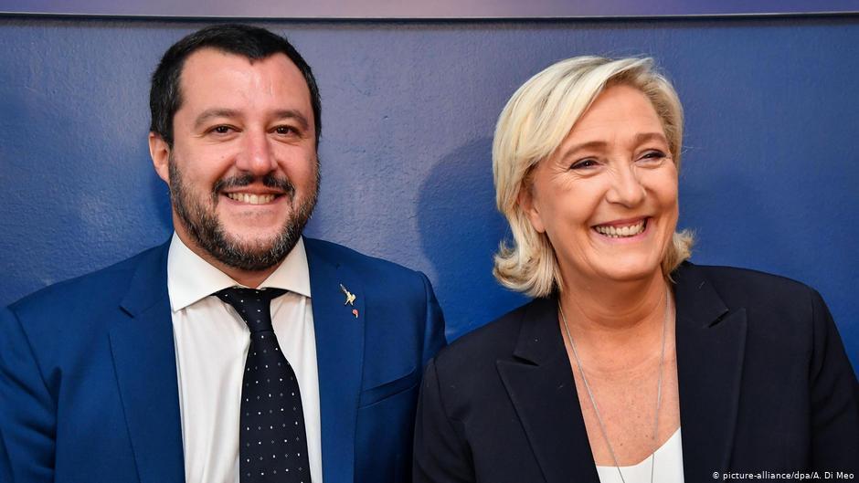Rassemblement national d'extrême droite français rejoint l'alliance européenne de Salvini | Nouvelles | DW