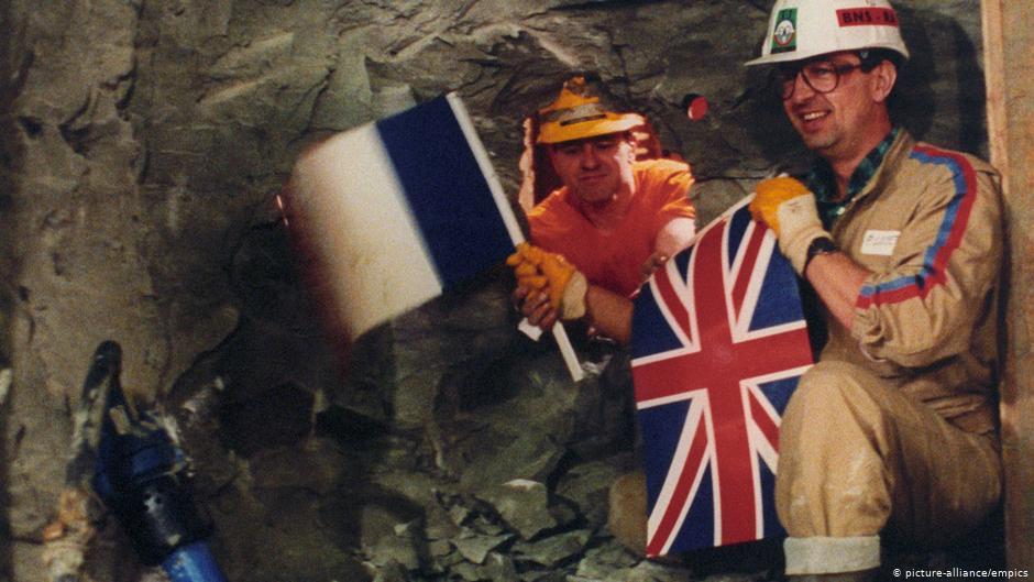 Angleterre-France: Le tunnel sous la Manche marque ses 25 ans | Nouvelles | DW