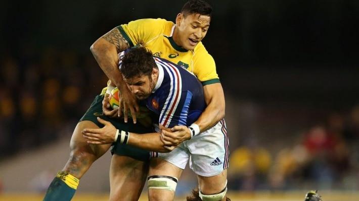 Israël Folau peut oublier un contrat de rugby en France s'il est expulsé par Rugby Australia.
