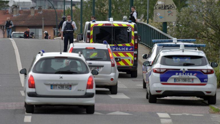 La prise d'otages est proche de l'aéroport de Toulouse
