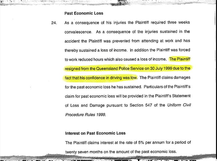 Coupure de documents juridiques Dutton