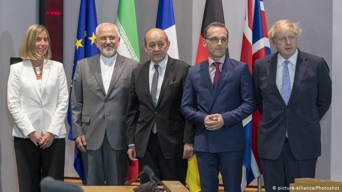 Divers ministres européens des Affaires étrangères et leur homologue iranien se sont rencontrés en Belgique