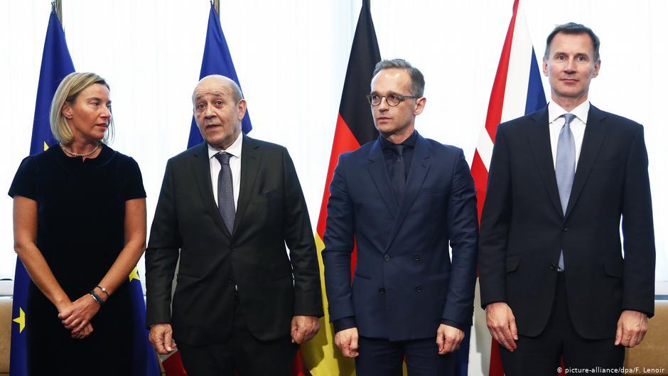 L'UE soutient l'accord sur le nucléaire iranien lors de la visite de Pompeo à l'US Pompeo | Nouvelles | DW