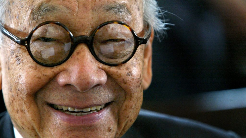 Architect I.M. Pei passed away at the age of 102 on May 16