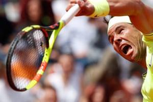 Nadal bat Maden 6-1, 6-2, 6-4.