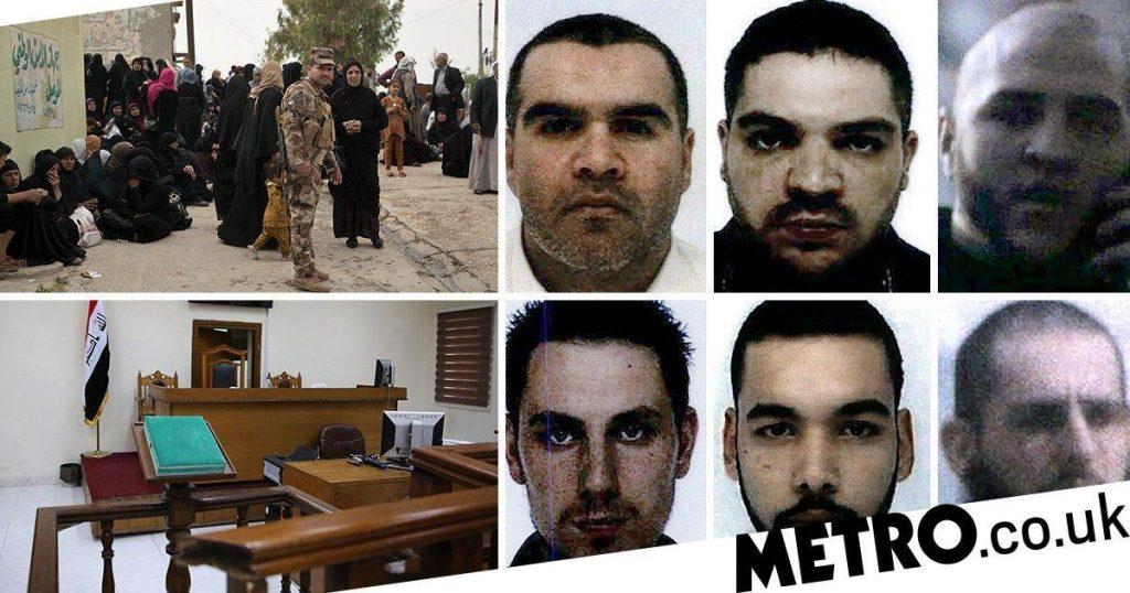 Six combattants français de l'EI condamnés à mort en Irak