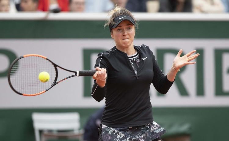 DOSSIER PHOTO: 26 mai 2019; Paris, France; Elina Svitolina (UKR) en action lors de son match contre Venus Williams (USA) le premier jour de la 201