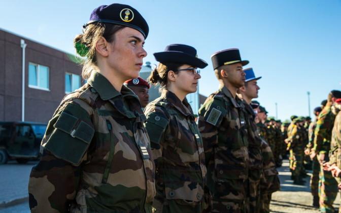 Galerie: Une unité française remplace les Belges sortants du groupement tactique de l'OTAN, l'Estonie   Nouvelles