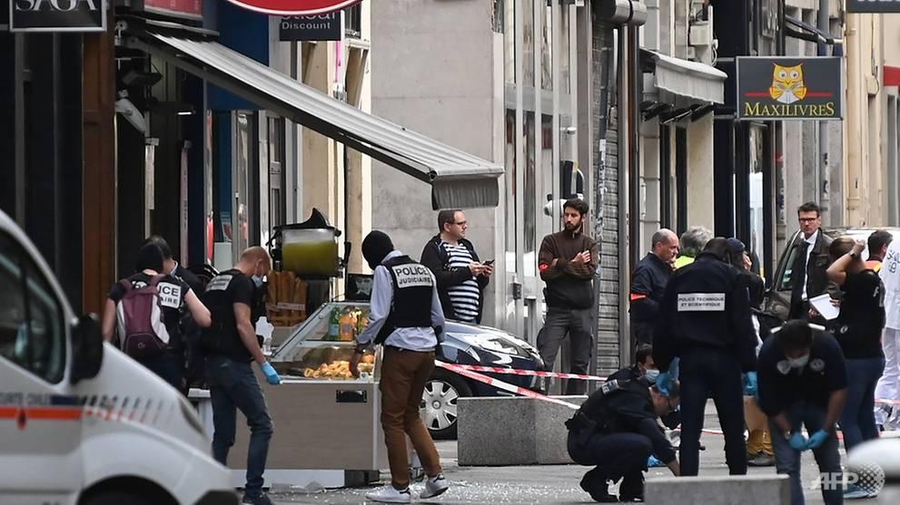 La police française arrête un suspect après l'explosion à Lyon