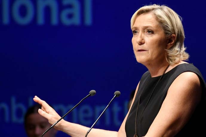 """It's crazy,"" Marine Le Pen fumed over a court ruling ordering her to undergo psychiatric evaluation (AFP / MANILA BULLETIN)"