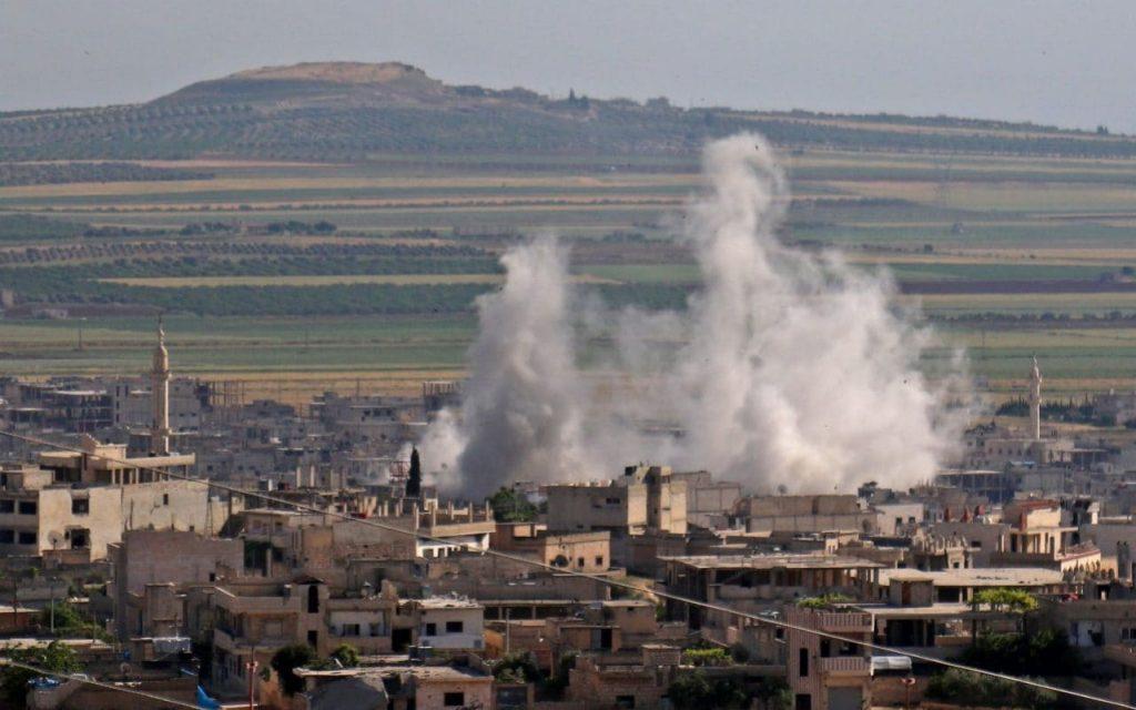 """Le Royaume-Uni, la France et l'Allemagne demandent à Assad de mettre fin à son assaut """"impitoyable"""" sur Idlib"""