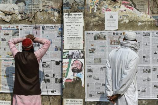 Le gouvernement bangladais bloque le site d'informations sur la presse - France