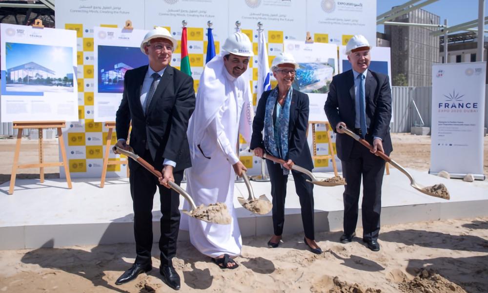 Le pavillon français débute les travaux de construction pour l'Expo 2020 de Dubaï