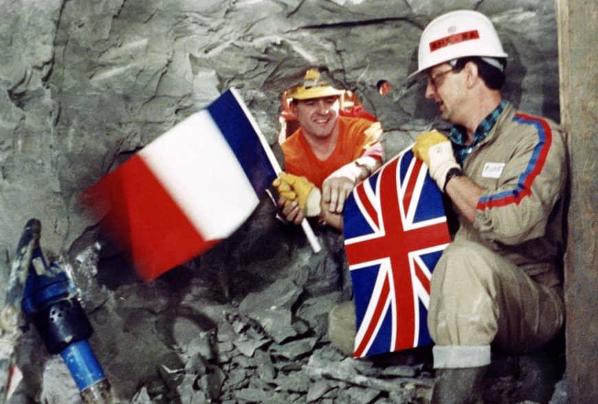 Le tunnel sous la Manche Bretagne-France, aujourd'hui âgé de 25 ans, a pris plusieurs siècles
