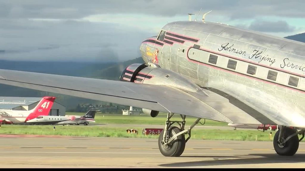 Miss Montana takes off for France