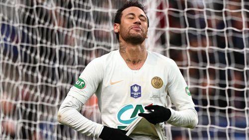 Neymar recadrée