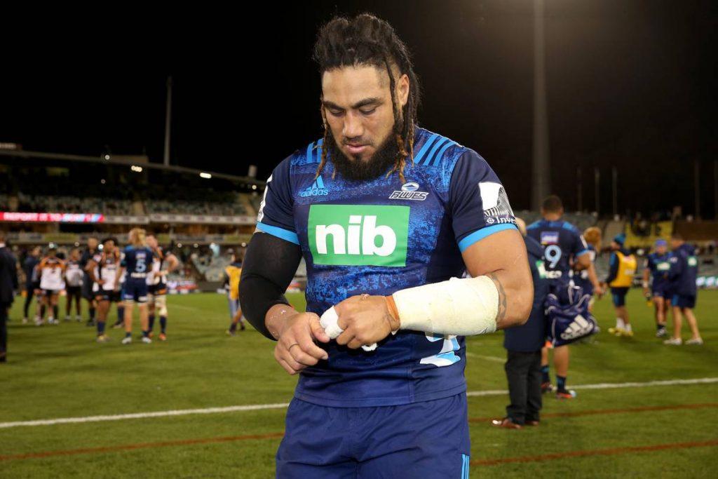 Super Rugby: le Ma'a Nonu des Blues au bord du choc est de retour à Toulon - rapports