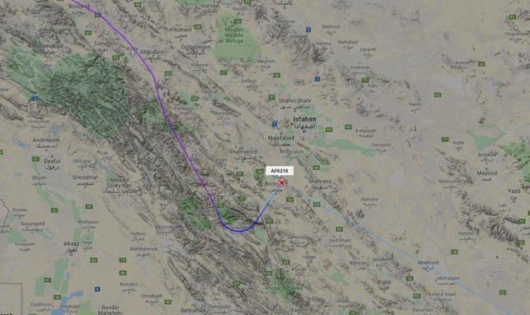 Urgence Air France: l'AF218 disparaît du radar après la déclaration d'urgence à l'Iran | Monde | Nouvelles