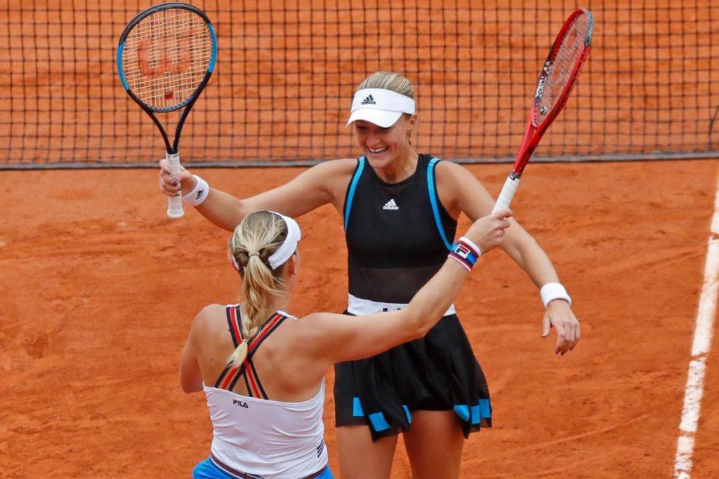 Dernières nouvelles: Babos et Mladenovic remportent le titre de double français | Nouvelles sportives
