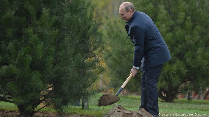 Le président russe Vladimir Poutine en 2014