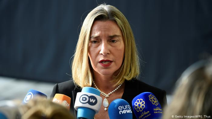 Federica Mogherini (Getty Images / AFP / J. Thys)