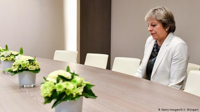 Theresa May (Getty Images / G.V. Wijngart)