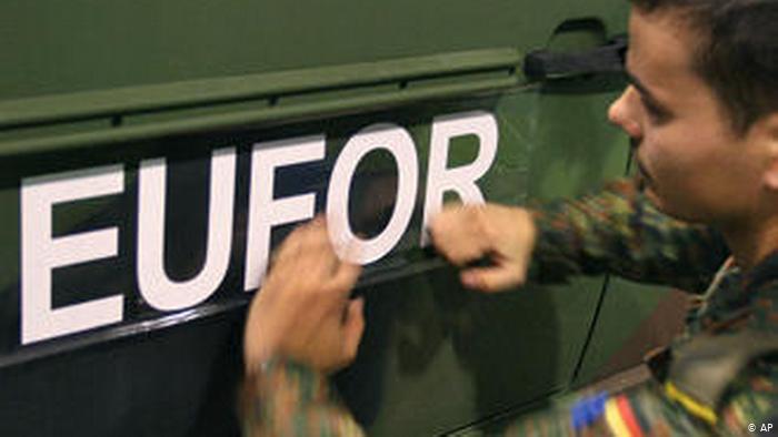 Mission EUFOR en Bosnie (AP)