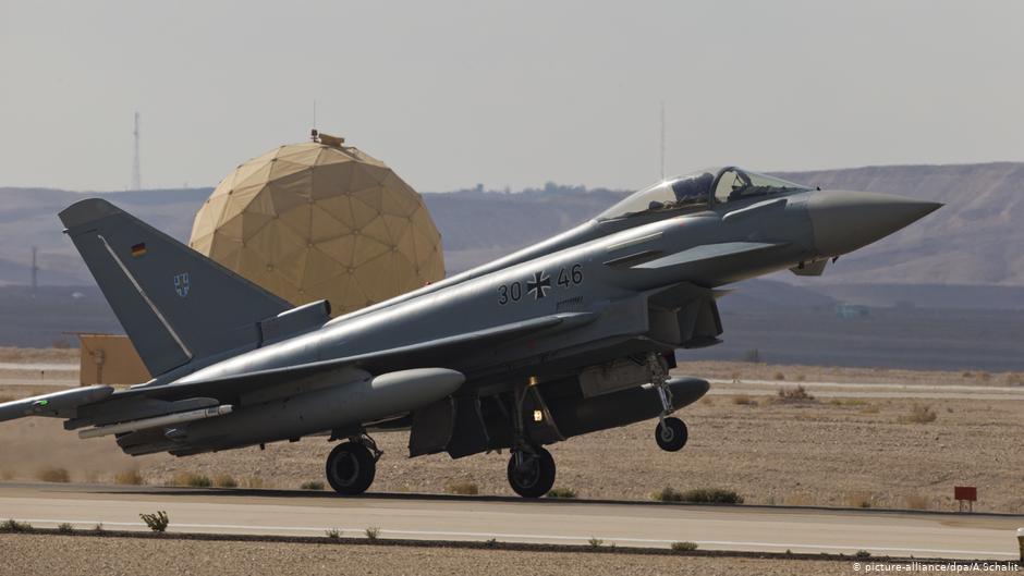 L'Allemagne, la France et l'Espagne signent un accord sur un avion de combat européen   Nouvelles   DW
