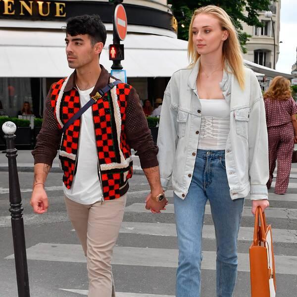 Sophie Turner et Joe Jonas présentent une PDA en France avant le mariage n ° 2