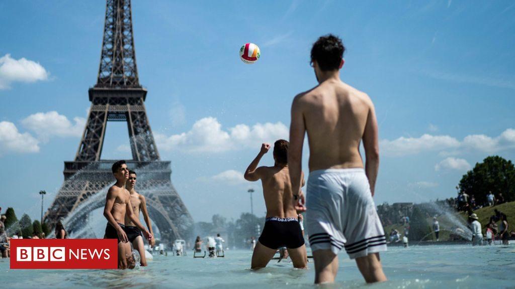 France vague de chaleur: la région parisienne ferme les écoles