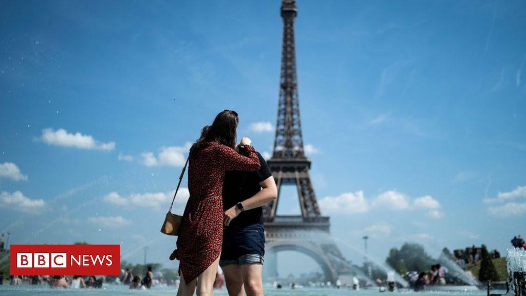 En images: la vague de chaleur européenne de juin 2019