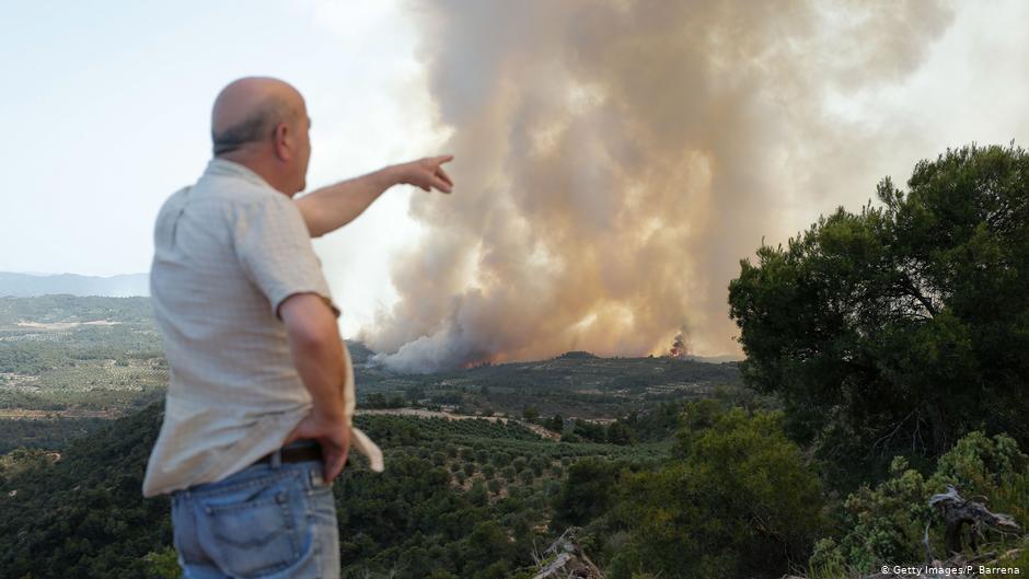 La vague de chaleur en Europe déclenche une vague massive en Espagne et des températures record en France | Nouvelles | DW