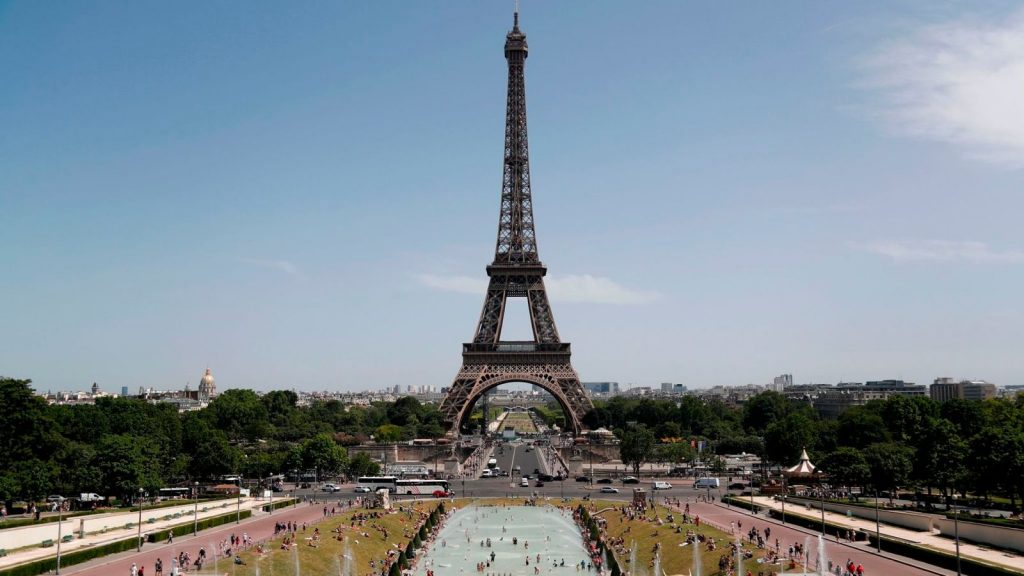 France is currently experiencing its hottest day ever, with a top temperature of 45.1C