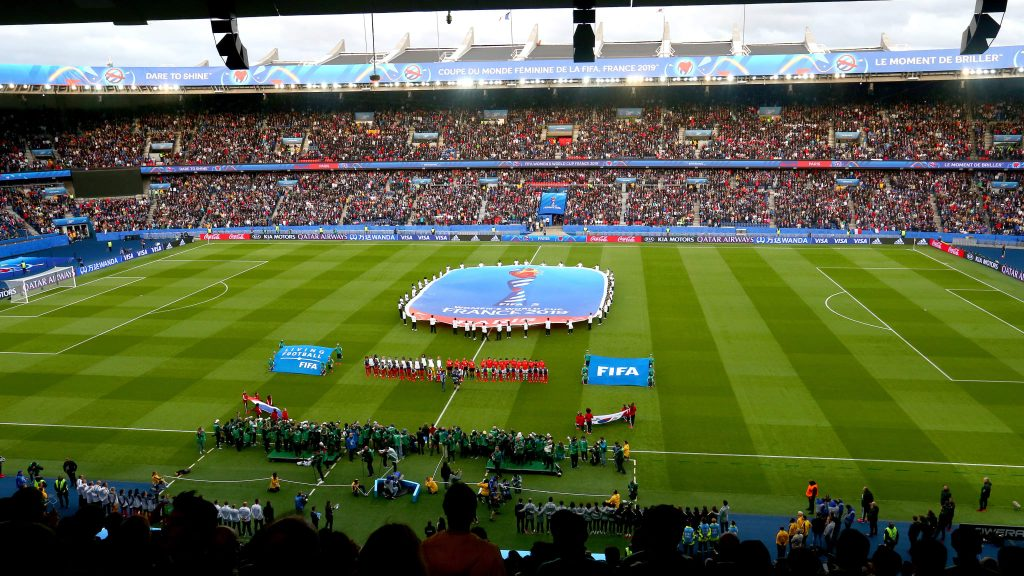 Coupe du Monde Féminine de la FIFA, France 2019 ™ - Actualités - La Coupe du Monde Féminine de la FIFA 2019 dépasse le million de billets franchis