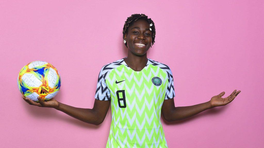 Coupe du Monde Féminine de la FIFA, France 2019 ™ - Actualités - Oshoala: Je vais m'amuser sur le terrain
