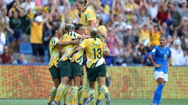 L'Australie bat le Brésil à la Coupe du monde de football féminin, Matildas, a marqué