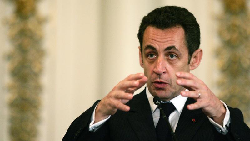Former French president Nicolas Sarkozy. (Francois Nel/Die Burger)