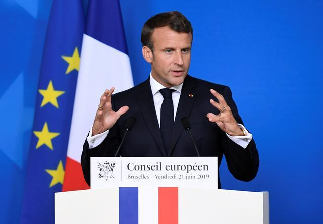 FILE PHOTO: French President Emmanuel Macron speaks during a news conference after the European Union leaders summit in Brussels, Belgium, June 21, 2019. (REUTERS/Piroschka van de Wouw/MANILA BULLETIN)