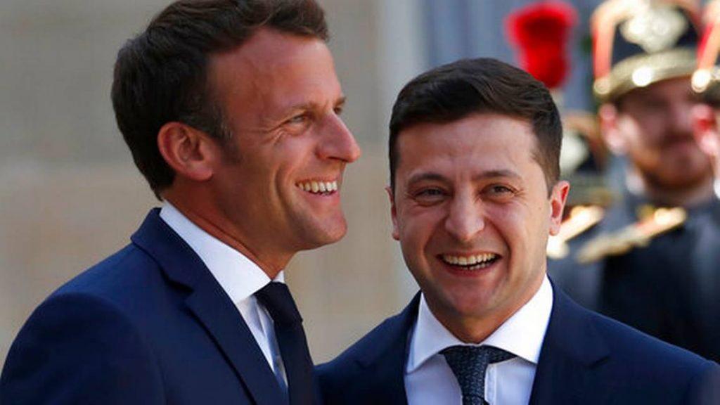 La France s'engage à soutenir les efforts de paix en Ukraine