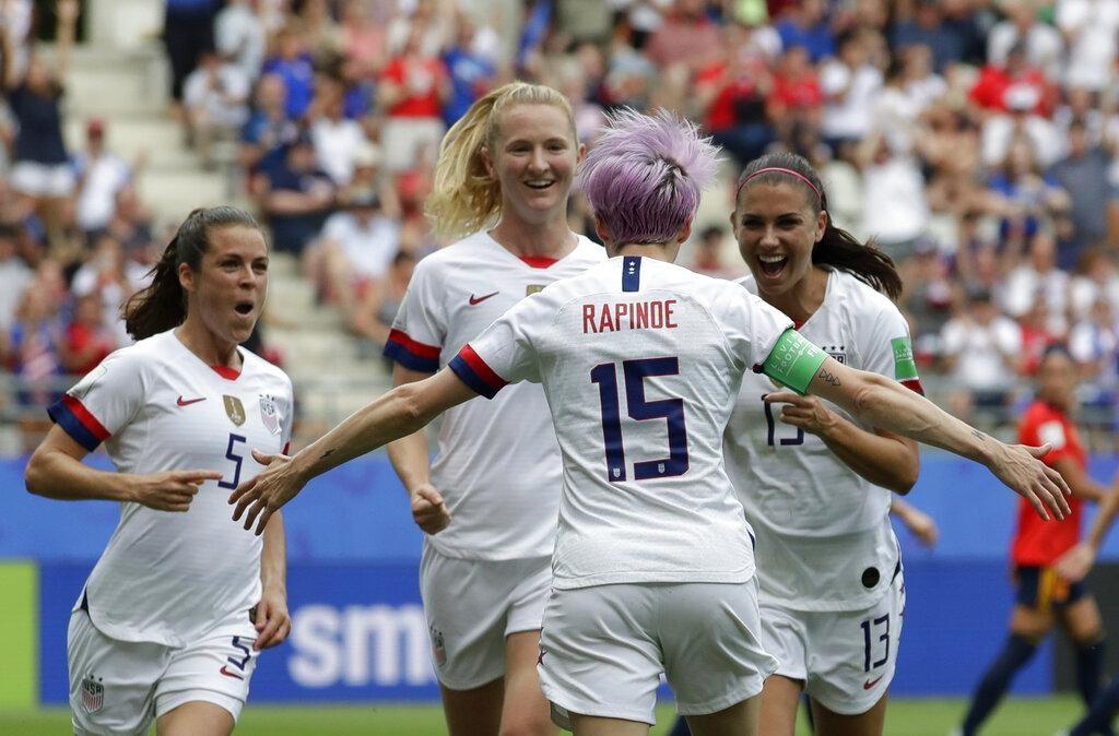 Les Américaines en quarts de finale de la Coupe du monde, regard sur la France - Actualités - GoErie.com