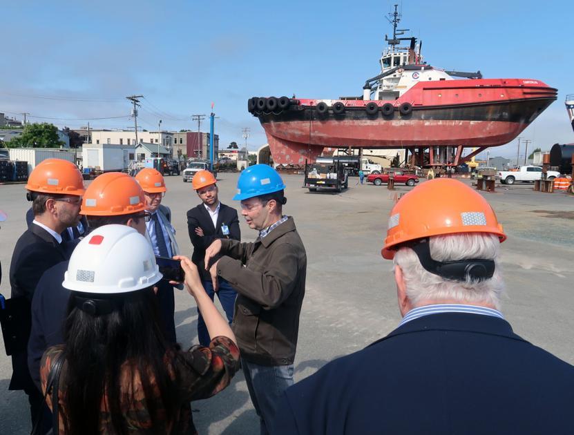 Les chefs d'entreprise français visitent le comté de Skagit   Nouvelles locales