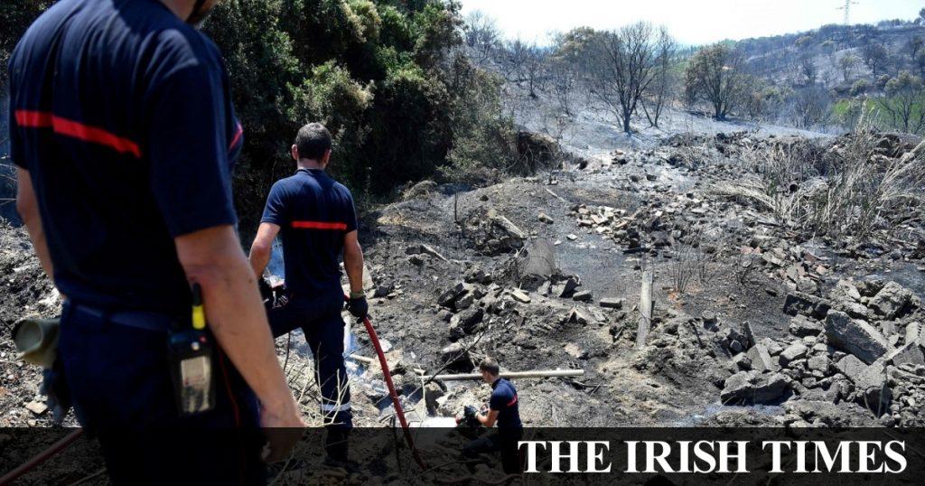 Les feux de forêt se sont battus en France et en Espagne alors que la vague de chaleur battait des records
