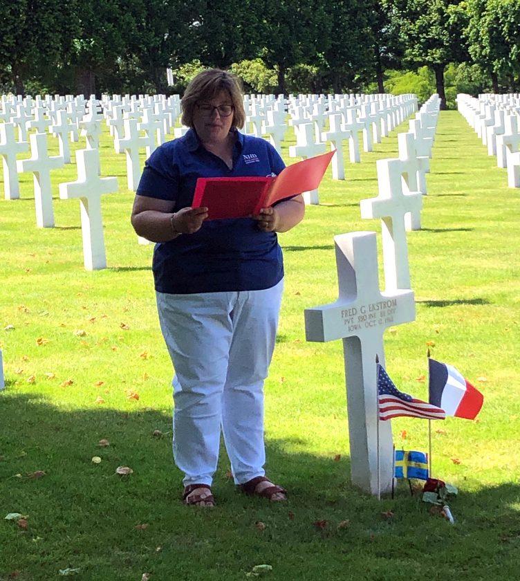 Un enseignant de l'école intermédiaire Miller visite des sites de la Première Guerre mondiale en France | Nouvelles, sports, emplois
