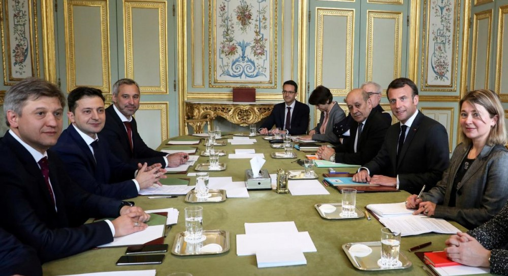 Zelensky en visite en France à l'invitation de Macron - actualités politiques