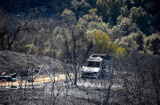 Les feux de forêt en France et en Espagne alors que trois meurent sous la canicule italienne