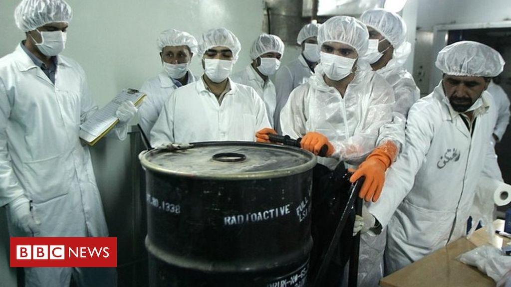 """Accord nucléaire iranien: Macron et Rouhani conviennent de """"regarder les conditions pour des négociations"""""""