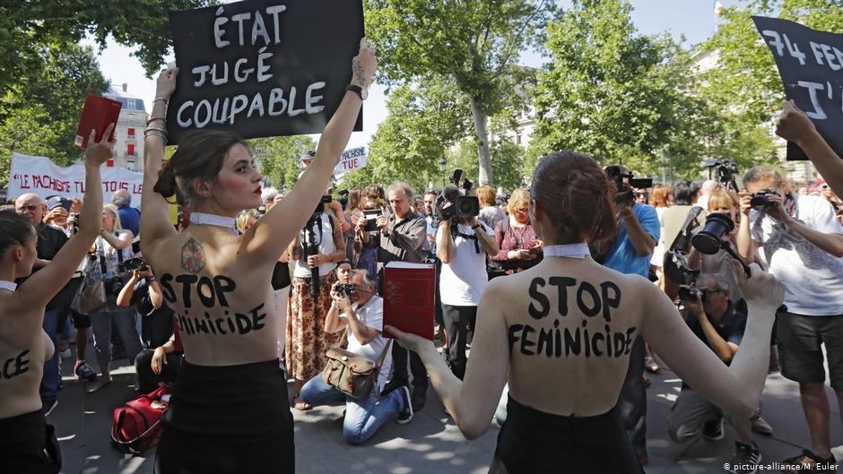 Paris proteste contre les violences faites aux femmes en France | Nouvelles | DW